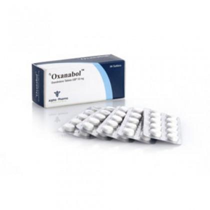 Oxanabol Alpha Pharma (50 com)
