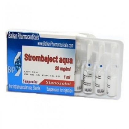 Strombaject aqua Balkan Pharmaceuticals